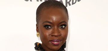 Danai Gurira in Rodarte at the Spirit Awards: too busy or cool?