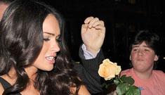 Megan Fox on snubbing boy's rose: 'I feel so sad for him. That's terrible'