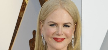 Nicole Kidman's big, bowed, blue Armani at the Oscars: controversial or lovely?