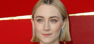 Saoirse Ronan in pink Calvin Klein at the Oscars: fabulous or ill-fitting?