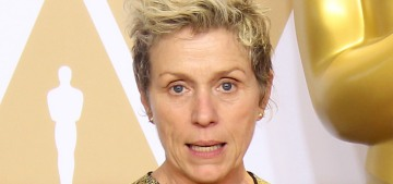 Frances McDormand gets 'inclusion rider' trending, because she's awesome