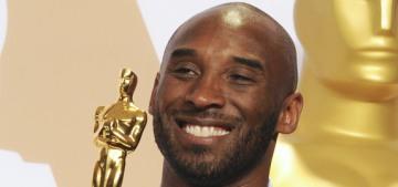 Kobe Bryant & Gary Oldman won Oscars last night: how do you feel about that?