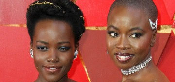 The Wakandan Delegation came to the 2018 Oscars & it was awesome
