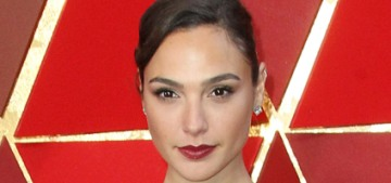 Gal Gadot in metallic Givenchy at the Oscars: boring or surprisingly great?