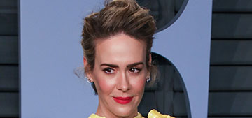 Sarah Paulson in Marc Jacobs at the  VF Oscar  party: bright or blah?