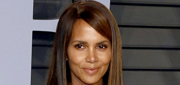 Halle Berry in a Zuhair Murad mini at the VF Oscar party: hot or predictable?