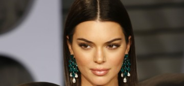 Kendall Jenner in Redemption at the VF Oscar party: dead-eyed & basic?