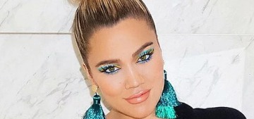 Khloe Kardashian is expecting a girl & Kris Jenner says men are 'more attached' to girls