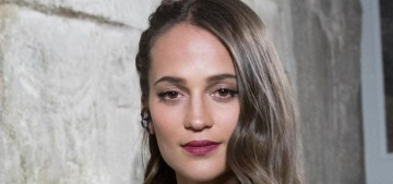 Alicia Vikander: 'I could never compete with what Angelina Jolie did'