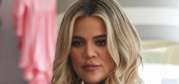 Khloe Kardashian, 8 months pregnant: 'I've been eating like a beast'