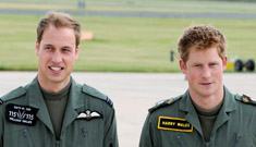Princes William & Harry: the continuing adventures of Baldy & Ginger