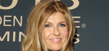 Connie Britton doesn't worry about aging: 'It doesn't make a lot of sense'