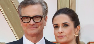 Colin Firth's wife Livia had an affair & now she's being stalked by her ex-lover