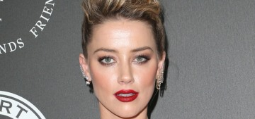 Amber Heard was apparently on a date with Sean Penn at the Sunset Tower Hotel