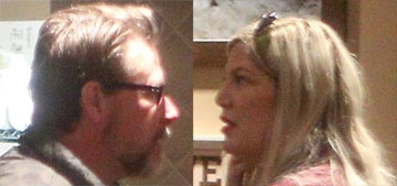 ET: Tori Spelling 'lost it again, she flipped out again and threatened' Dean