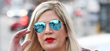 Tori Spelling & Dean McDermott were escorted by cops due to paparazzi, not a fight