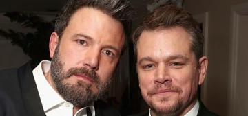 Matt Damon & Ben Affleck's production company will do inclusion riders now