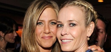 Did Chelsea Handler & Jennifer Aniston 'break up' because of Justin Theroux?