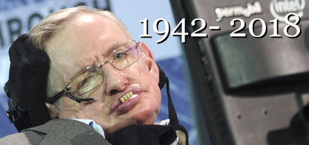 Physicist Stephen Hawking has passed away at 76