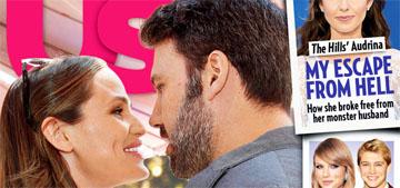 US cover: Ben Affleck and Jennifer Garner 'spending nights together'