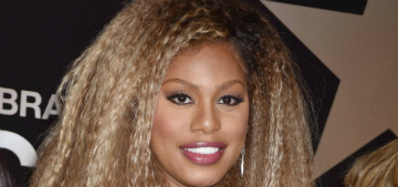 Laverne Cox: 'I'm not delusional & think I look like Beyoncé, but people tell me that'