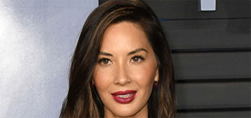 Olivia Munn just got a perm too: cute or '90s?