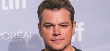 Matt Damon plans to move to Australia because he hates Trump's America?