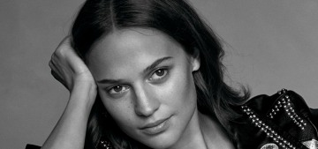 Alicia Vikander wants Lara Croft to be 'attractive & sexy' and 'a girl that fights'