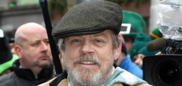 Mark Hamill was the guest of honor at the Dublin St. Patrick's Day parade