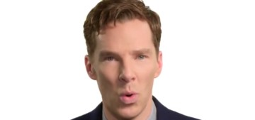 Benedict Cumberbatch talks dirty to a cup of tea: does this get you hot & bothered?