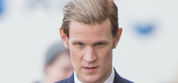 Should Matt Smith donate part of his 'Crown' salary to Time's Up?  No…?