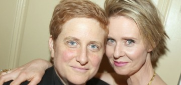 Stop saying Cynthia Nixon is running for governor of NY as an 'openly gay' woman