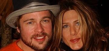 Star: George Clooney enabled the sexy reunion of Brad Pitt & Jennifer Aniston