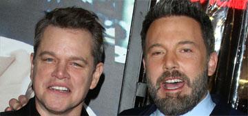 Matt Damon on Ben Affleck's tattoo, he won't 'tell another man what he can do'