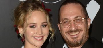 Darren Aronofsky claims he wasn't 'pushing' Jennifer Lawrence when she hurt herself