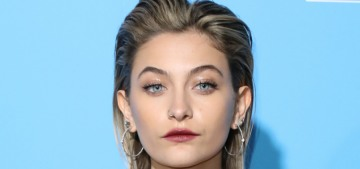 Paris Jackson & Cara Delevingne were making out, but they're not 'dating'