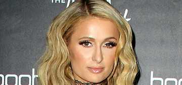 Paris Hilton's engagement ring flew off into an ice bucket at a club
