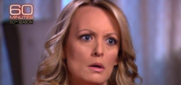 Stormy Daniels on 60 Minutes: Trump's goons threatened me & my infant daughter