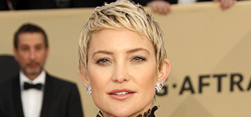 Kate Hudson thinks every woman should shave their head at least once
