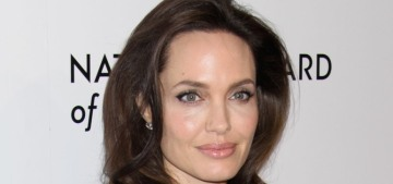 Angelina Jolie is quietly dating a handsome, older-looking real estate agent?