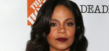Sanaa Lathan was the mystery actress who bit Beyonce, according to TMZ