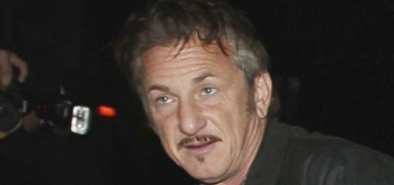Sean Penn wrote a garbage poem about #MeToo and how it's a 'toddler's crusade'