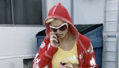 Paris Hilton gets some work done