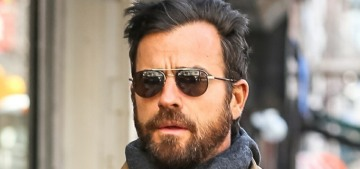 Justin Theroux & Aubrey Plaza were together because they were discussing work