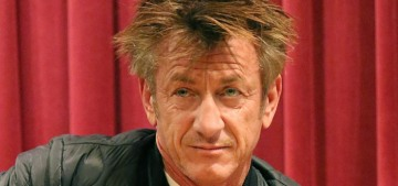 People: Sean Penn drinks, smokes, eats well, works out a lot and never sleeps