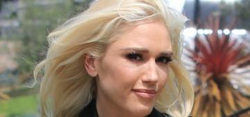 Gwen Stefani & Blake Shelton took her sons to church on Easter Sunday