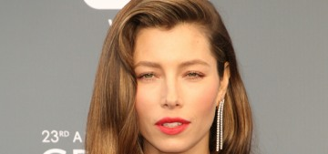 Jessica Biel wanted a completely natural home birth, but got an emergency C-section
