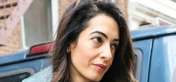 Amal Clooney has reportedly done a Vogue editorial at her English country estate