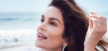 Cindy Crawford: 'I don't really think that you can teach how to model'