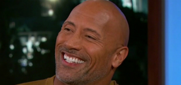 The Rock: Frances McDormand was sweet to my daughter at the Globes